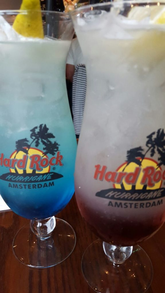 Cocktails Hard Rock Cafe Amsterdam