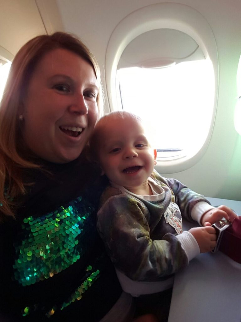 Eerste keer vliegen met je kind