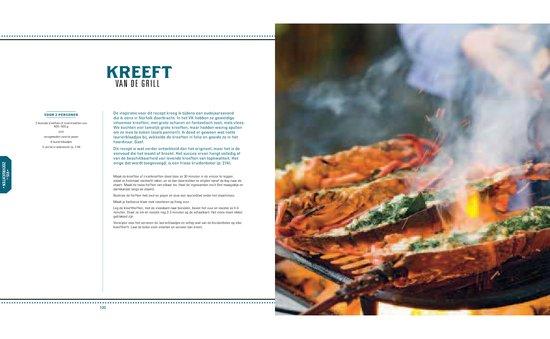 Gevulde kreeft van de barbecue uit kookboek BBQ kookboek tip van foodblog Foodinista