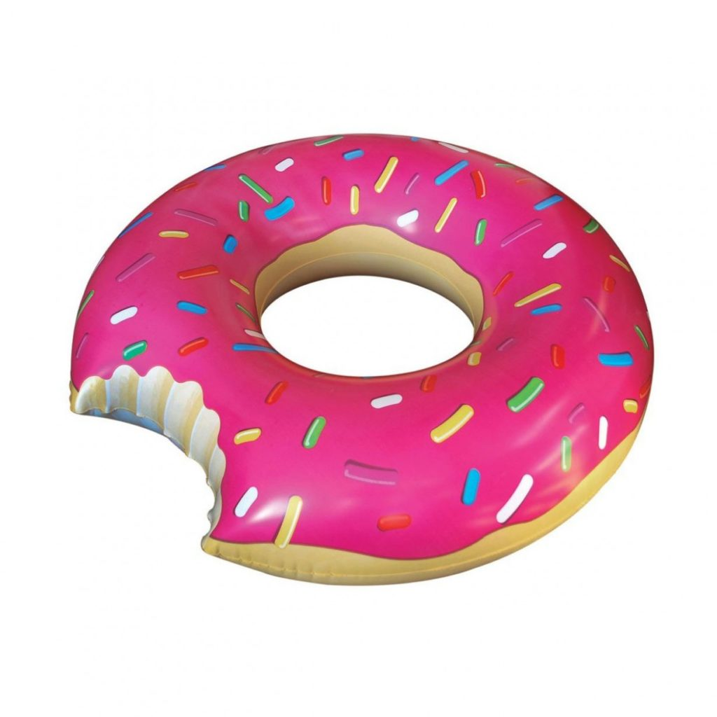 Happy verjaardagscadeautjes Donut zwemband Blogger Foodinista