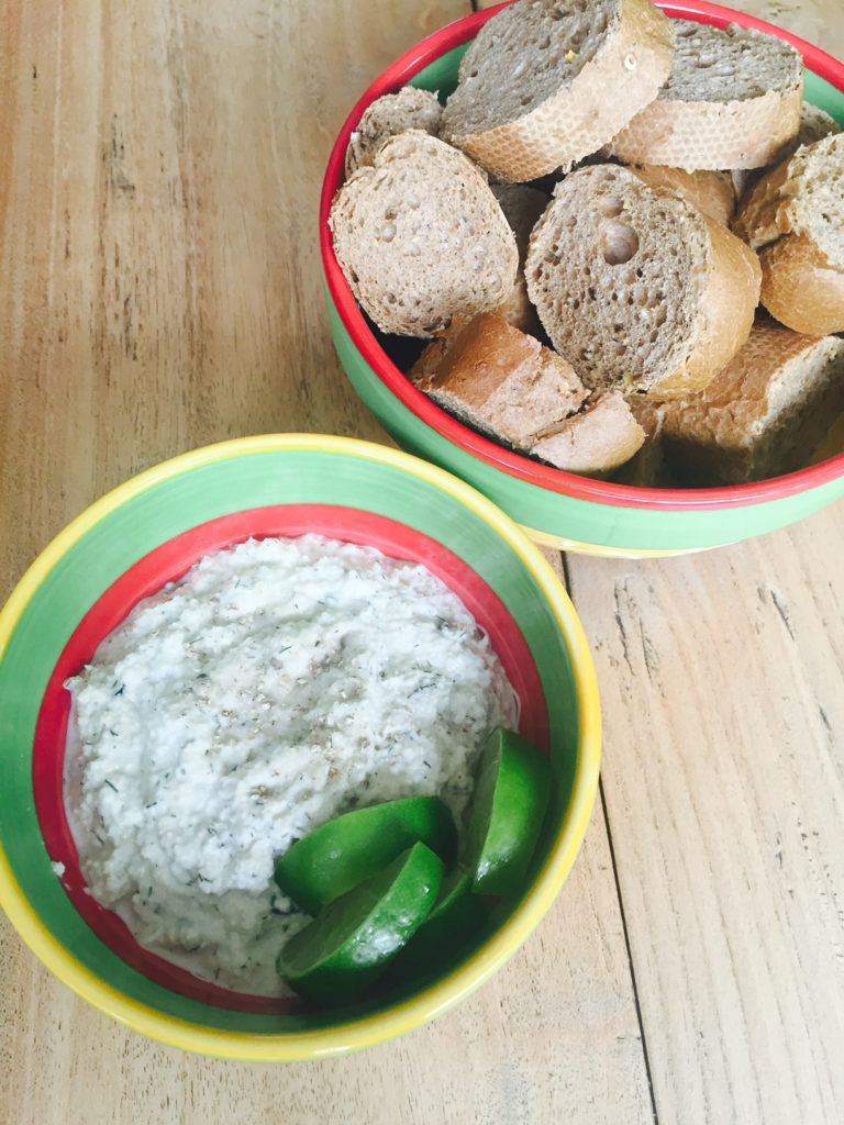 Recept voor cashewnoot dip foodblog Foodinista