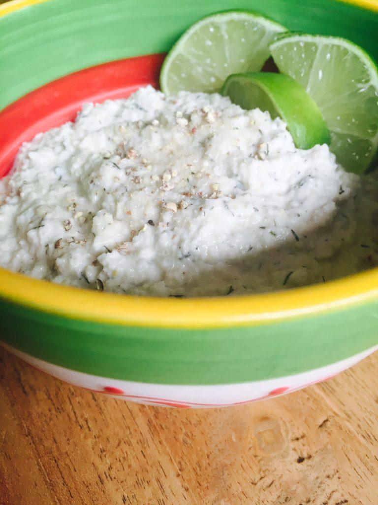 Cashewnoot dip recept uit kookboek Love & Lemons foodblog Foodinista