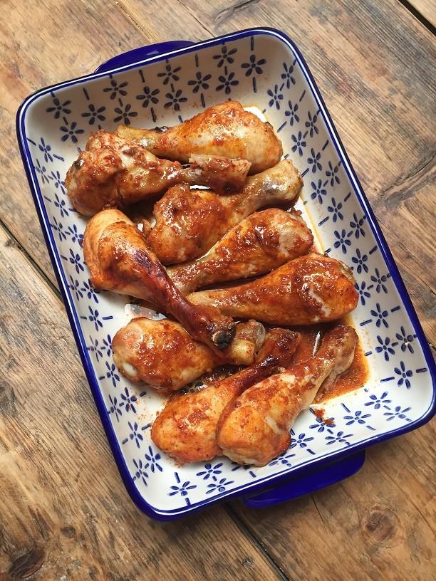 Kippenpootjes in Coca Cola van de barbecue Foodblog Foodinista