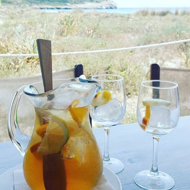 juni eetdagboek Foodblog Foodinista sangria op menorca