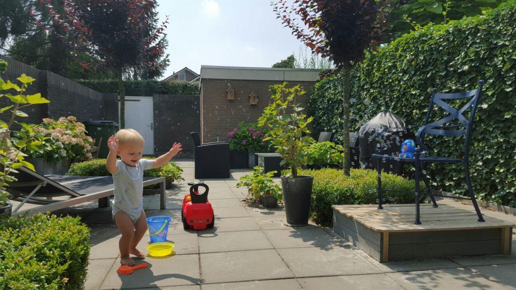 Met je kids de tuin in foodblog Foodinista winactie my fairy garden