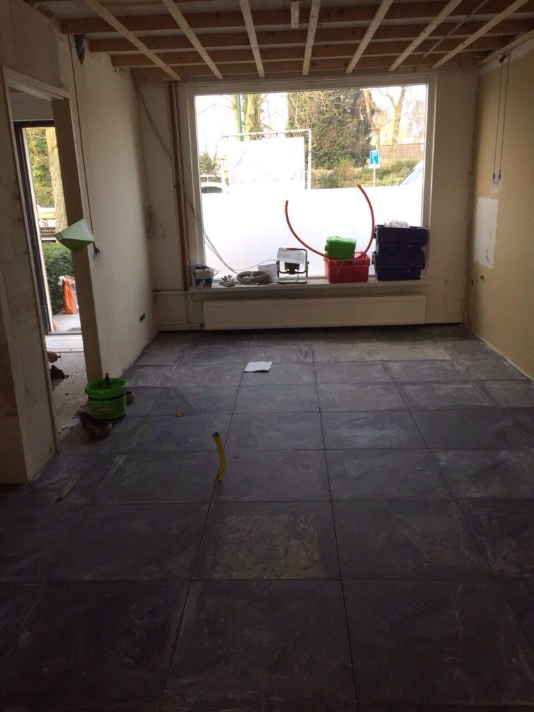 Nieuwe vloer in de keuken Jaar van de verhuizing Foodblog Foodinista