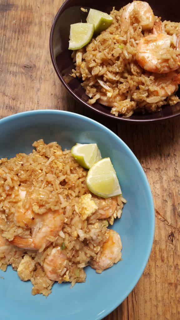 Thaise gebakken rijst met krab recept foodblog Foodinista