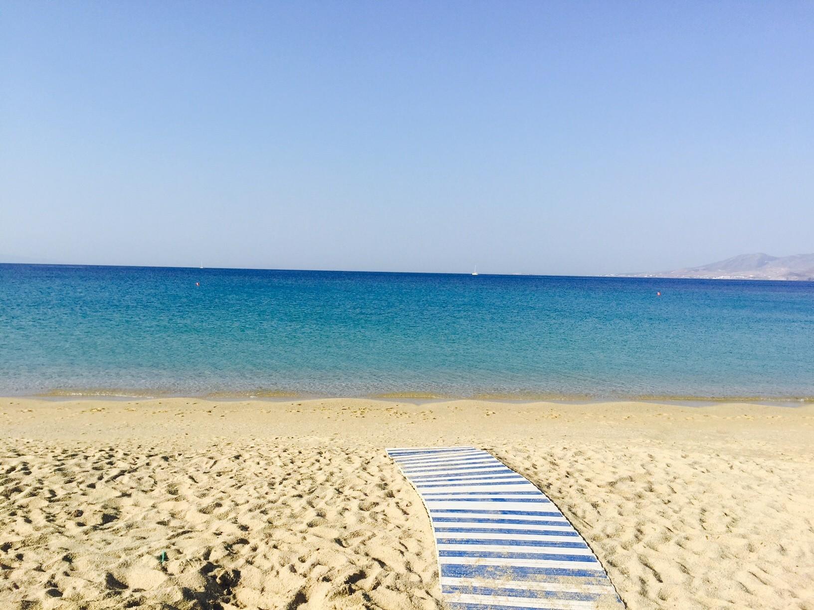 griekenland Naxos Strand Foodblog Foodinista