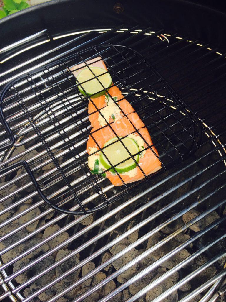 BBQ zalmrecept voor de BBQ foodblog Foodinista