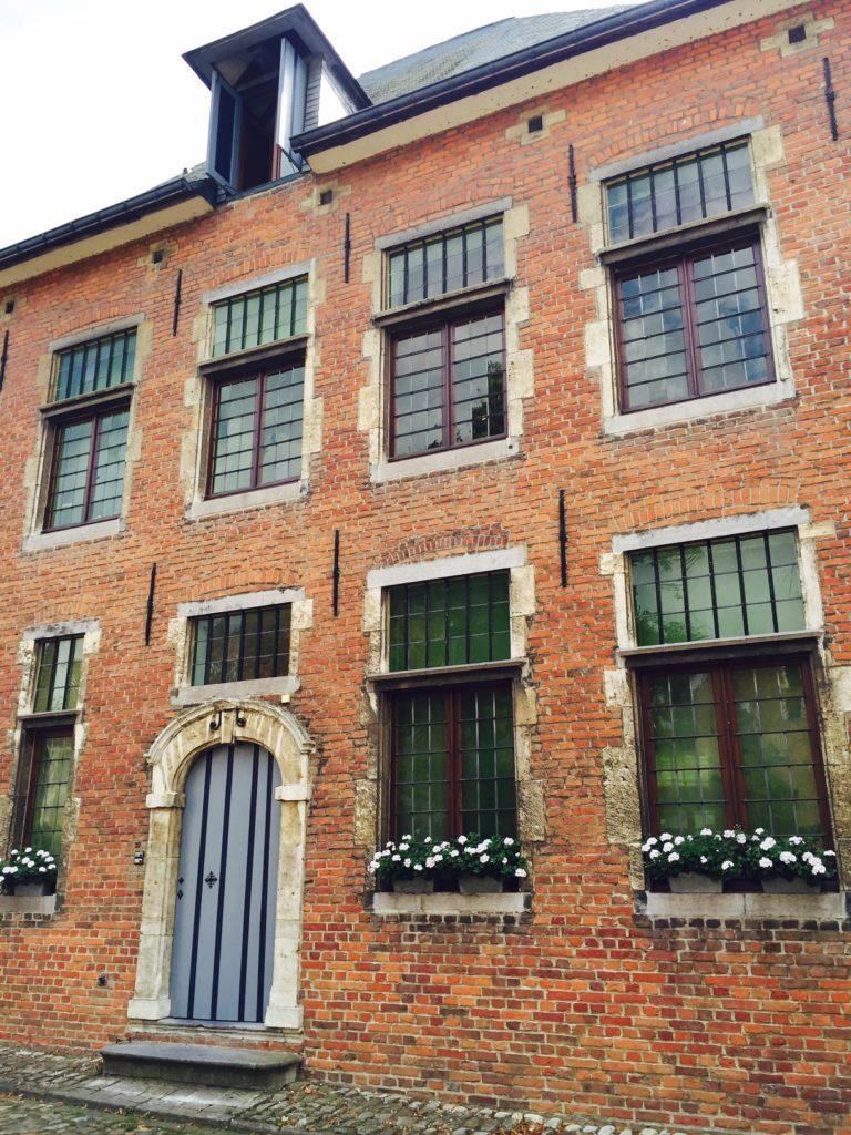 Ku Leuven tijdens de Fietstocht Foodinista travels reistips Leuven