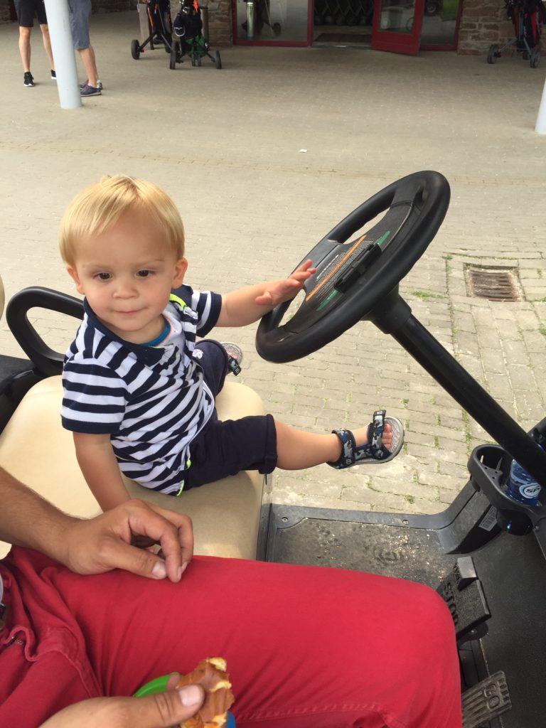 Eerste keer naar de golfbaan blogger Foodinista
