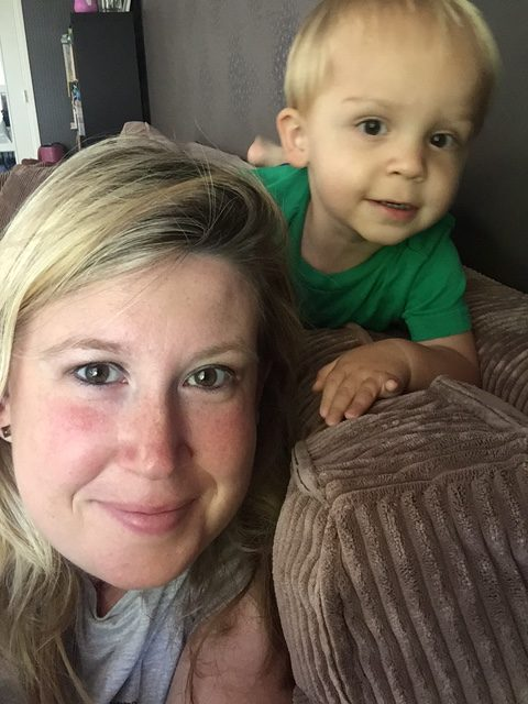 selfietijd mama en dreumes foodblog Foodinista