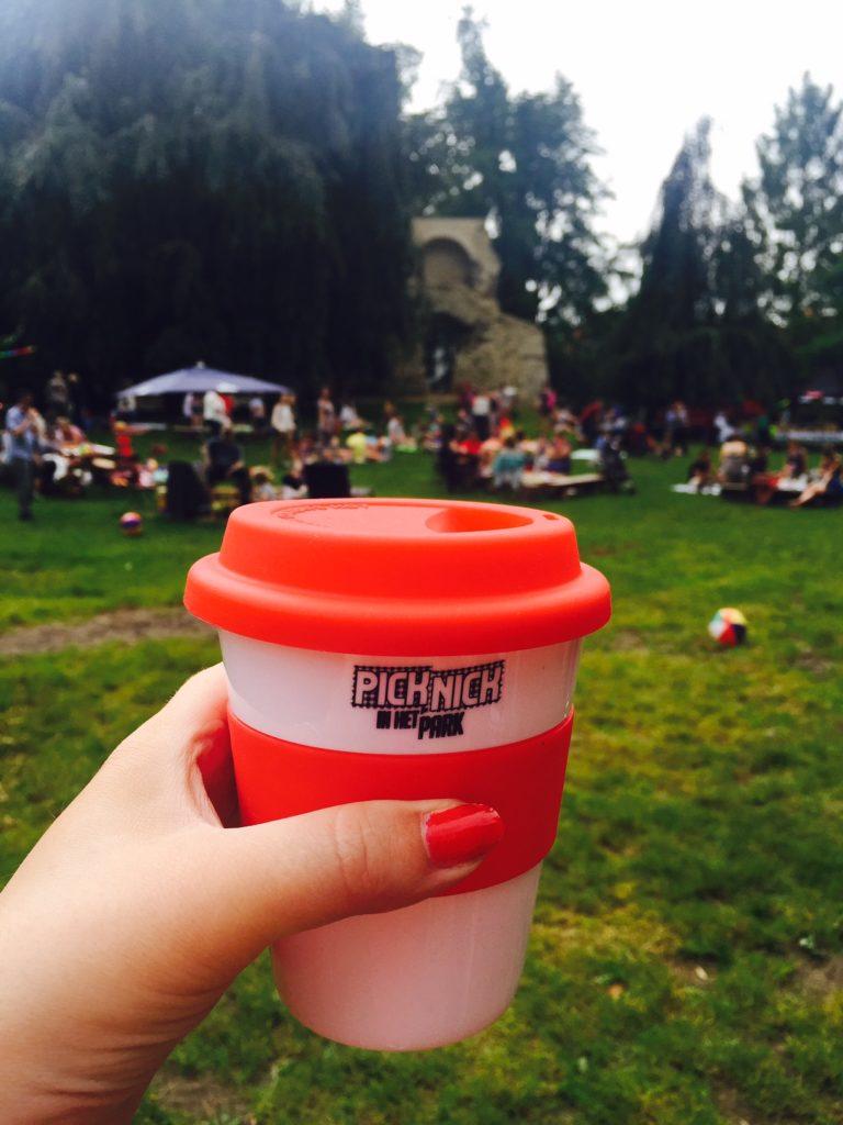 Picknick in het park Hapje tapje Festival Leuven