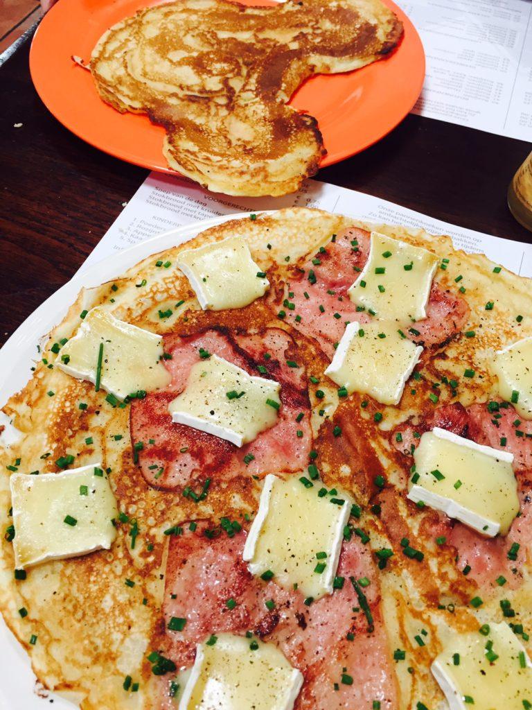 Pannenkoeken eten opa was jarig foodblog Foodinista