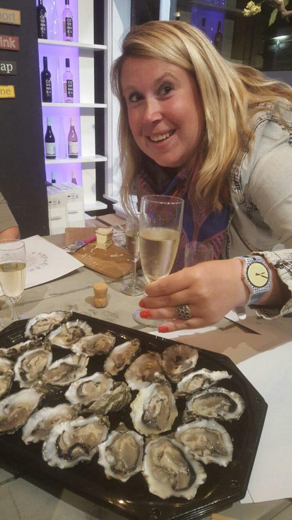 Champagneproeverij met oesters in Hilversum september dagboek Foodblog Foodinista
