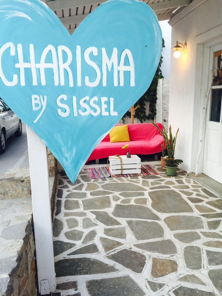 Charisma boetiek op Naxos Griekenland