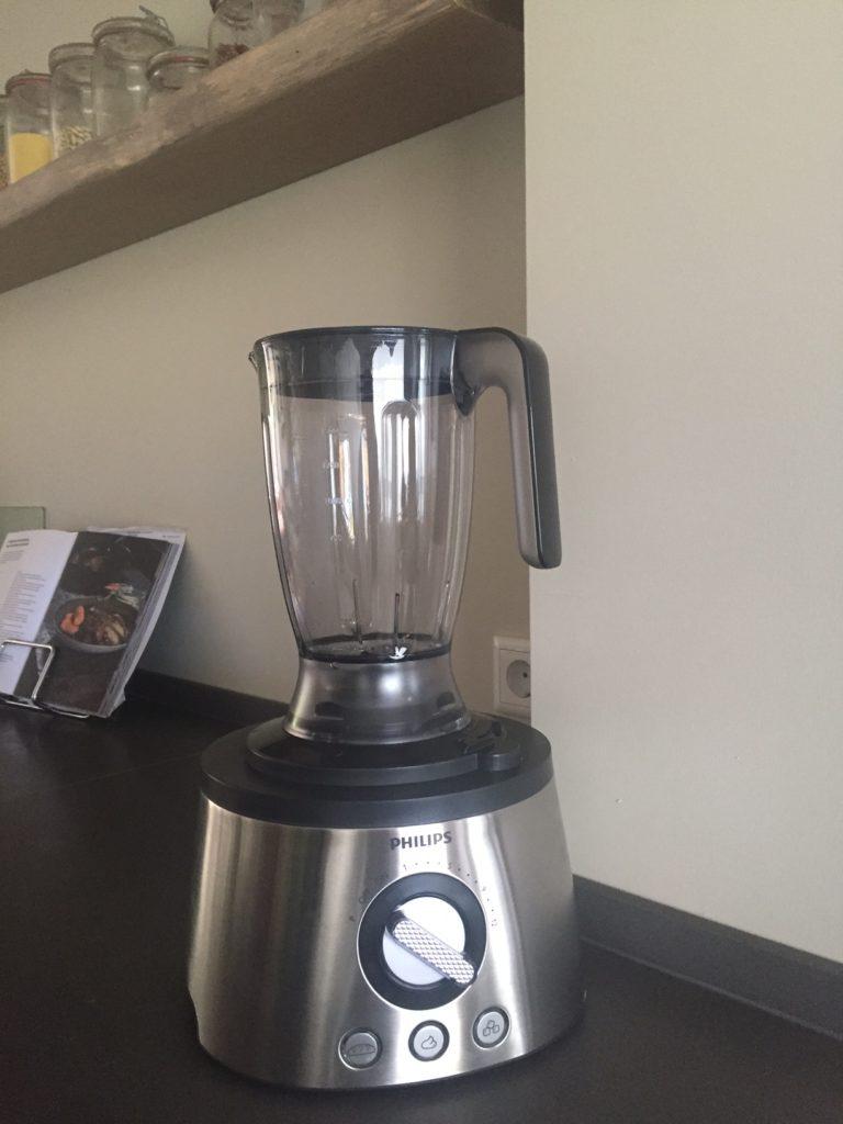 Nieuwe Philips keukenmachine getest en unboxed foodblog Foodinista