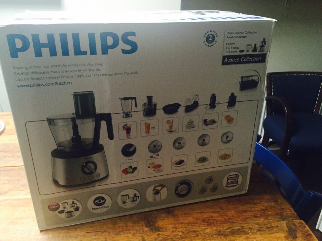 Nieuwe keukenmachine van Philips en coolbleu september dagboek foodinista