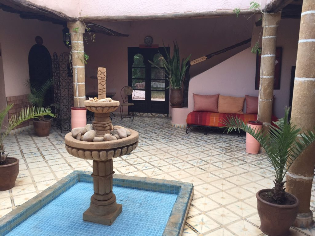 Onze rustige riad in Essaouira Marokka septemberdagboek foodblog Foodinista reist