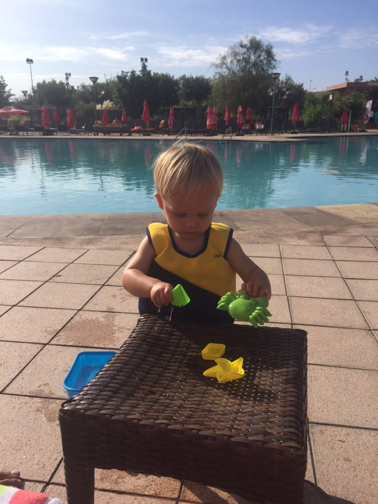 Spelen bij het Kenzi Agdal Medina Resort Marrakech Marokko blogger Foodinista