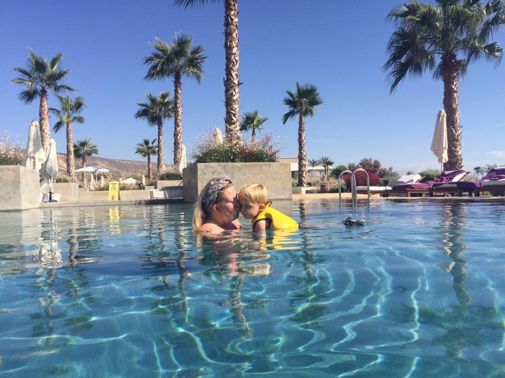 Zwemmen bij Hyatt Place Taghazout Bay Marokko