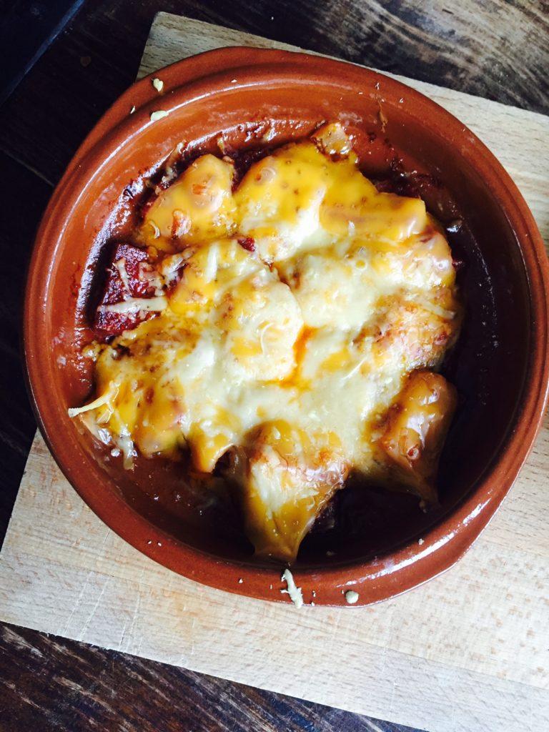 Chorizo con queso snelle texmex tapas van foodblog Foodinista