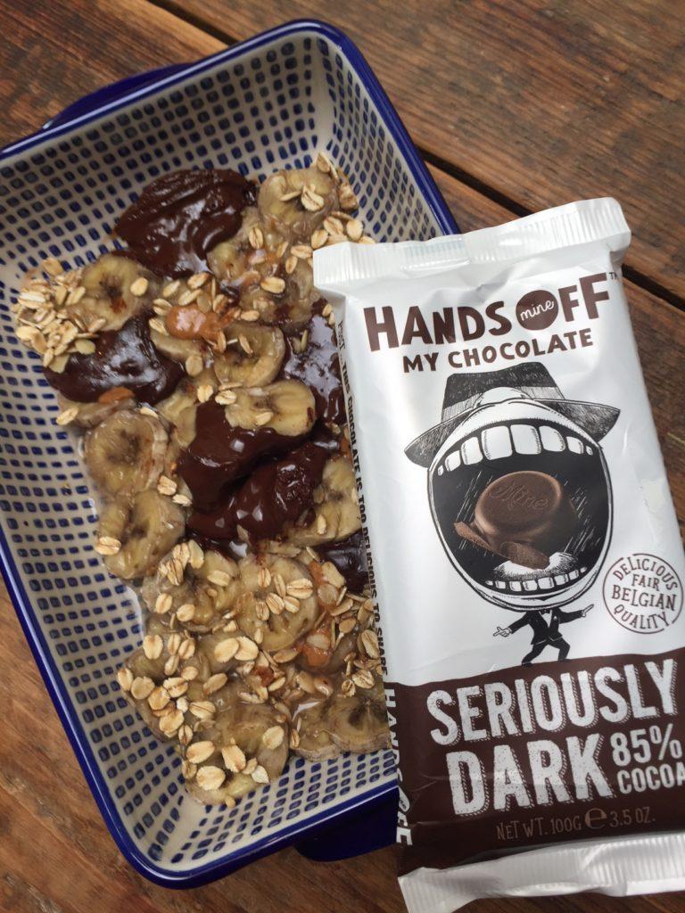 Banaan havermout chocolade ontbijt ovenschotel recept van Foodblog Foodinista