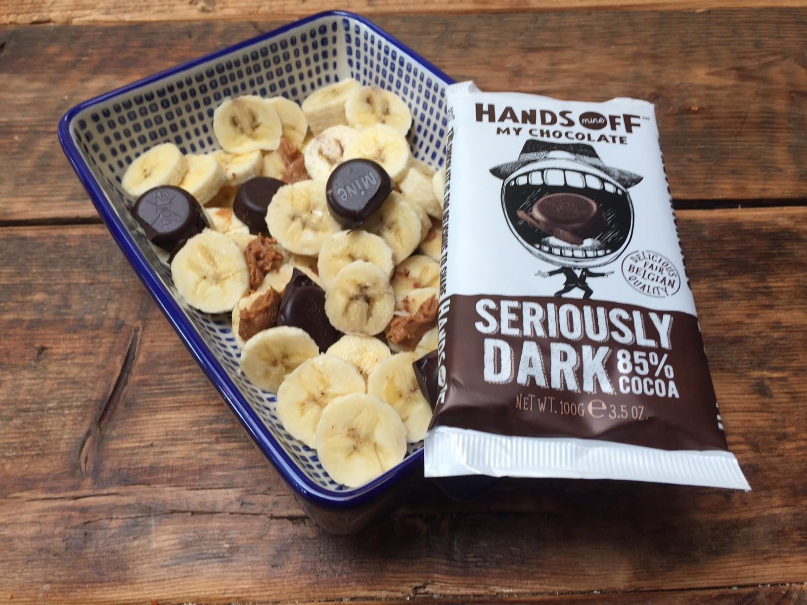 Ontbijt met banaan en chocolade van Hands off my chocolate recept en winactie foodblog Foodinista
