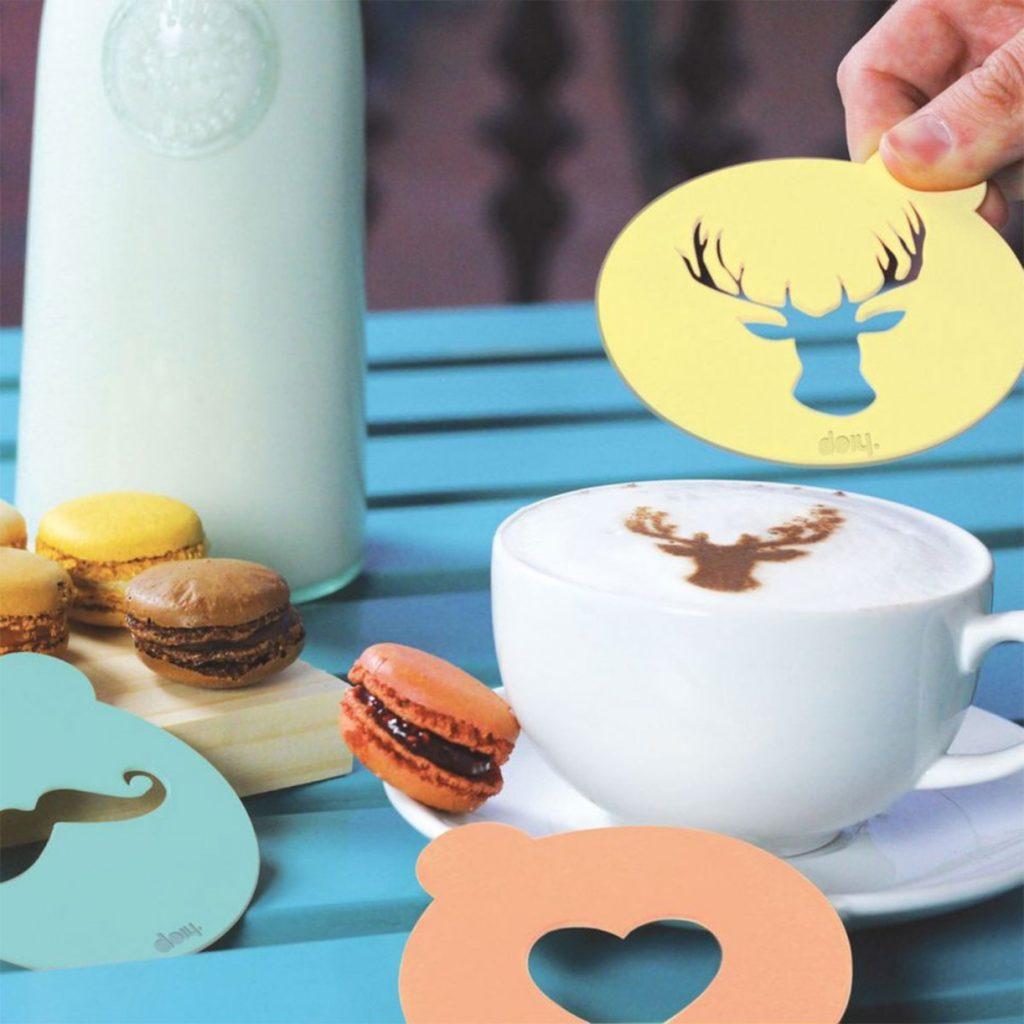 Ludieke Sinterklaas cadeautjes voor foodies koffie sjablonen foodblog Foodinista