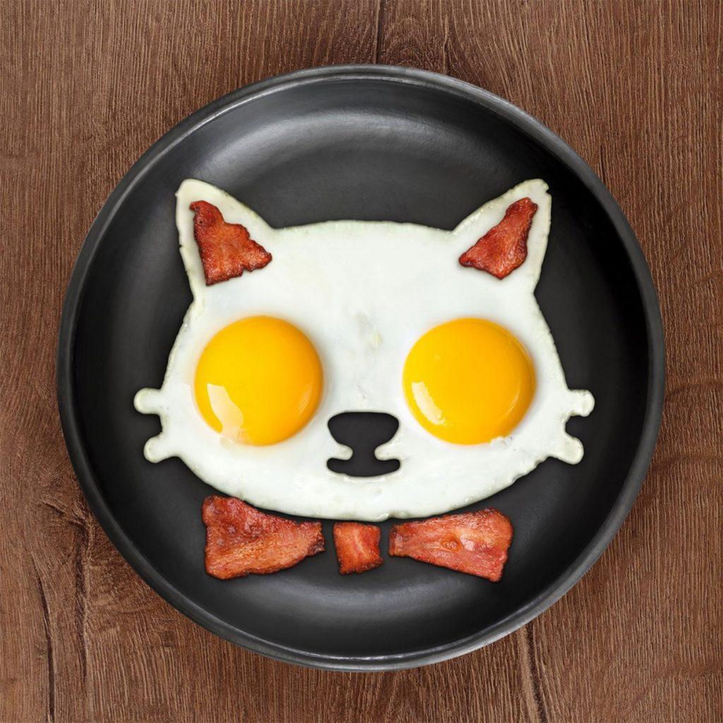 Ludieke Sinterklaascadeautjes met een smile eiervorm kat foodblog Foodinista