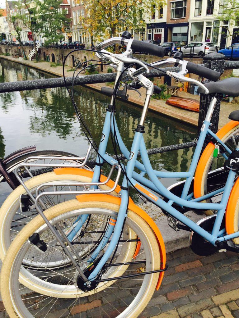 Fietsen van StayOkay Utrecht weekendje Utrecht blogger Foodinista