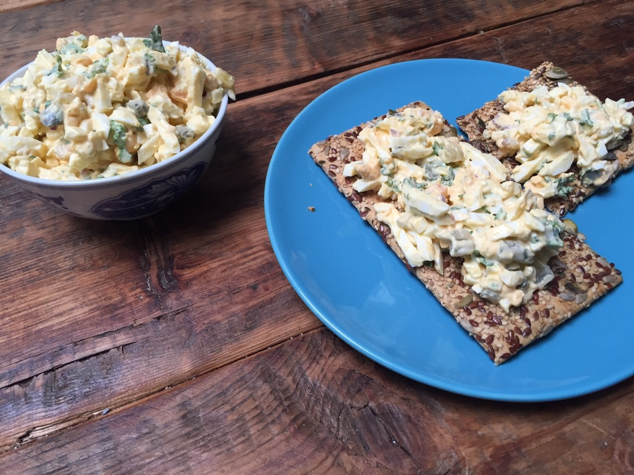 Frisse eiersalade recept van veggie very much kookboek foodblog Foodinista