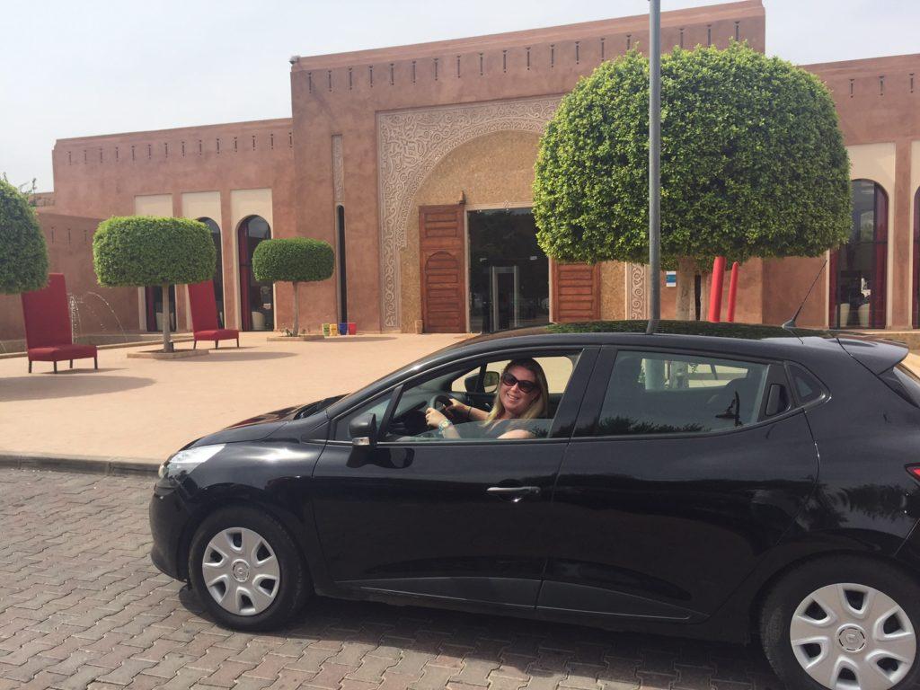 Sunnycars huurauto bij kenzi Club Agdal Medina kidsproof reizen foodblog Foodinista Marrakech Marokko