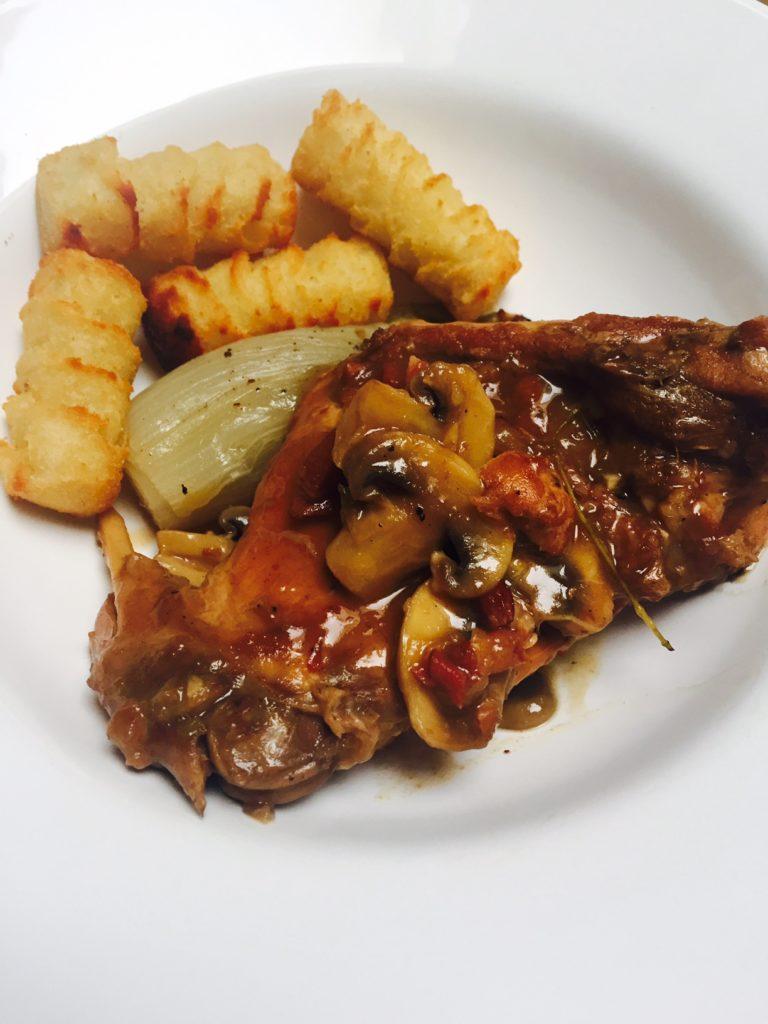 Recept voor stoofpot met konijn uit Dagelijkse kost van Jeroen Meus foodblog Foodinista
