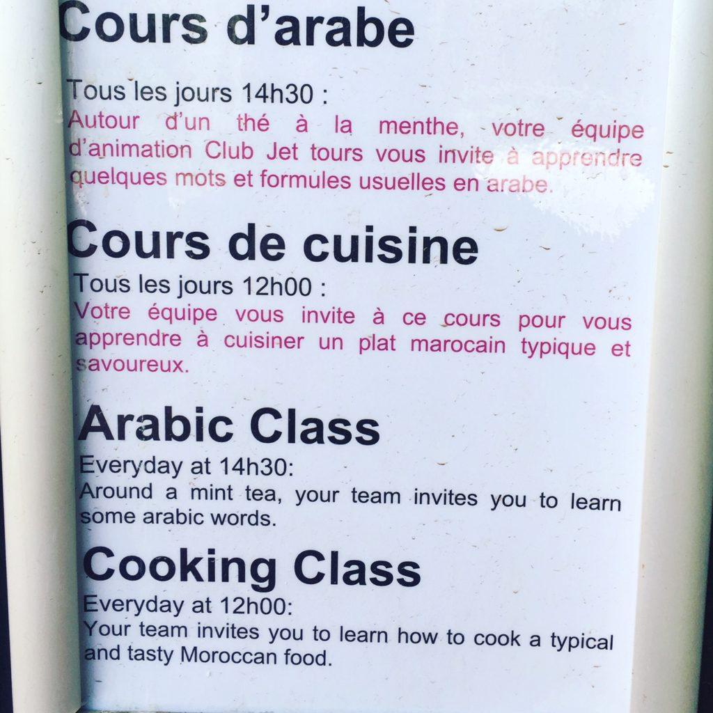 Kookworkshops bij Kenzi Agdal Medina Resort Marrakech foodblog Foodinista