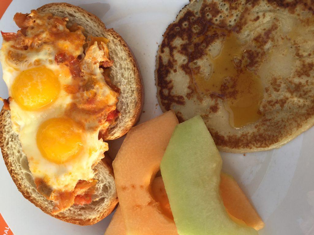 Ontbijten bij Kenzi Club Agdal foodblog Foodinista op reis in Marrakech
