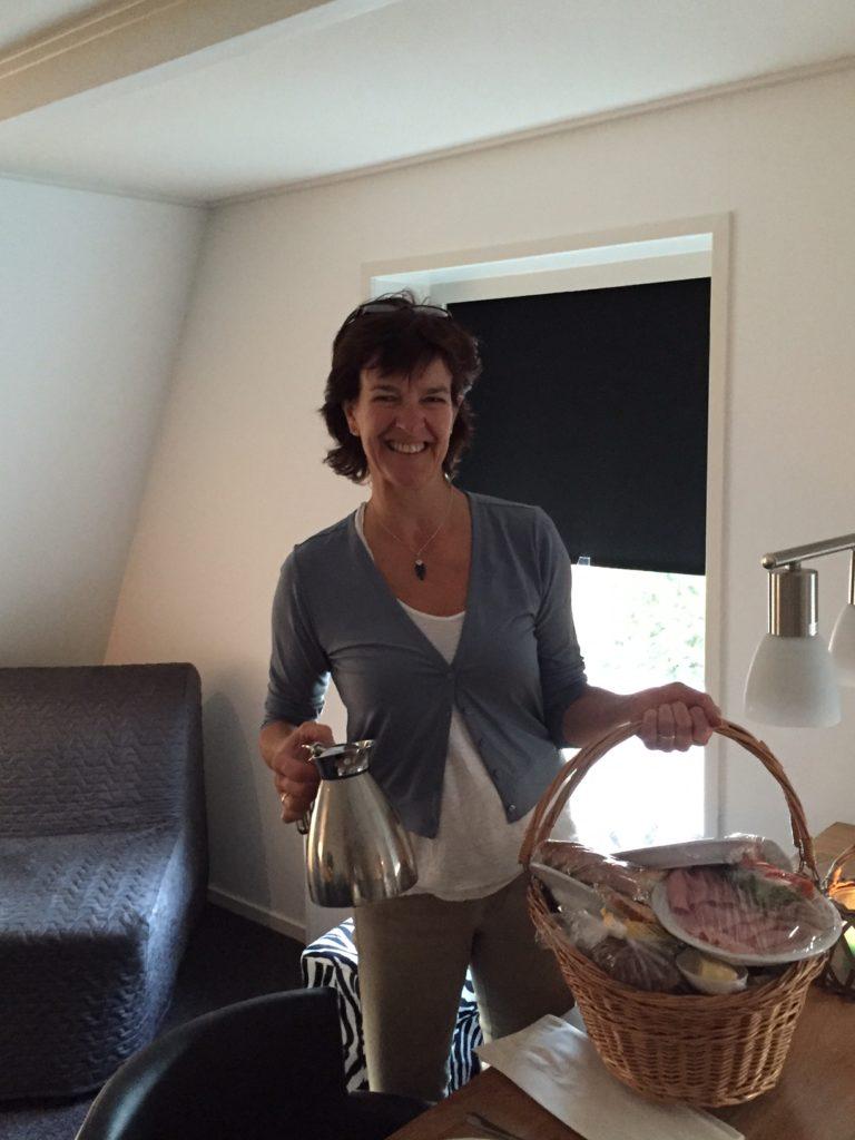 Ontbijt in het appartement Alde Feanen Friesland foodie in Friesland foodblog Foodinista