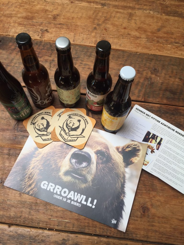 cadeau tip beer in a box foodblog Foodinista