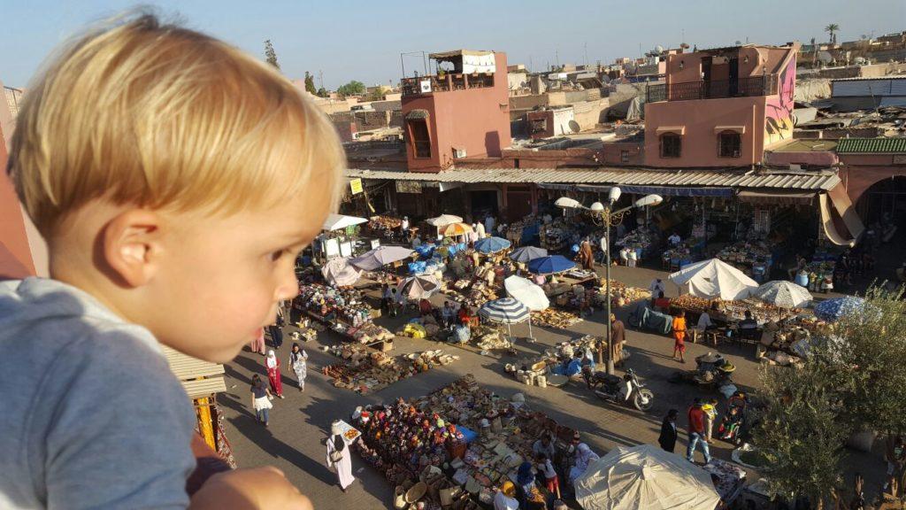 Place des Epices ontdekken in Marrakech Marokko blogger Foodinista