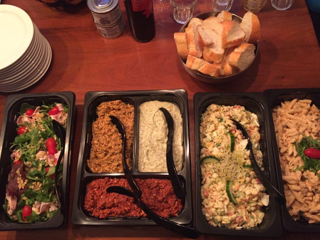 November dagboek verjaardag buffet van de buffetboer foodblog Foodinista