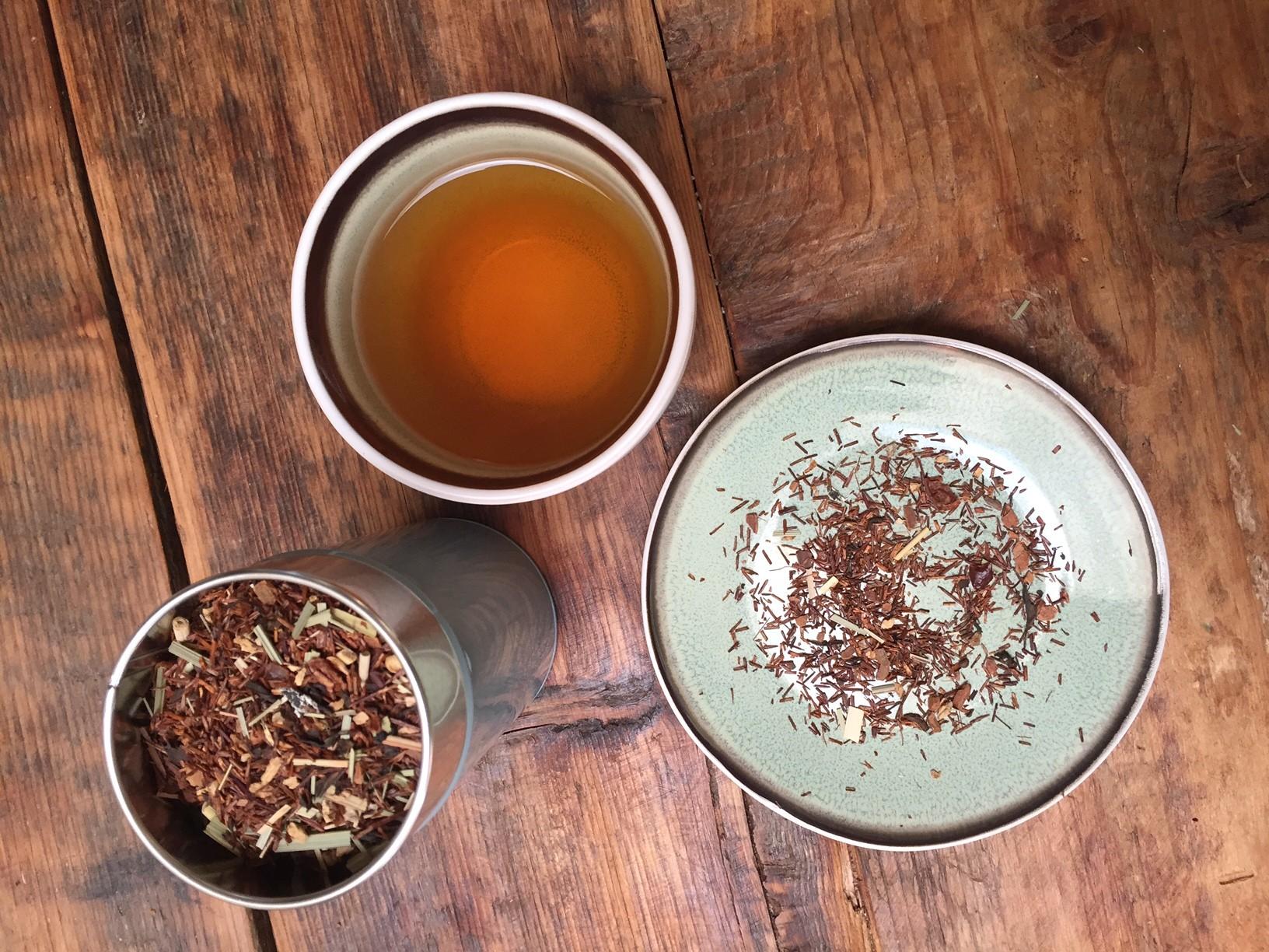 Theeproeverij met Simon Levelt Chai Rooibosthee Foodblog Foodinista