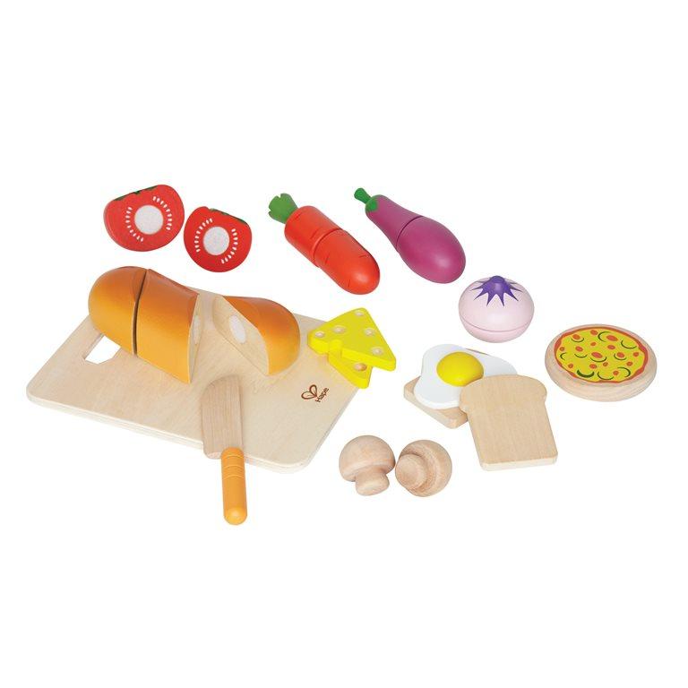 Spelen met houten eten praktische Sint cadeautjes blogger Foodinista