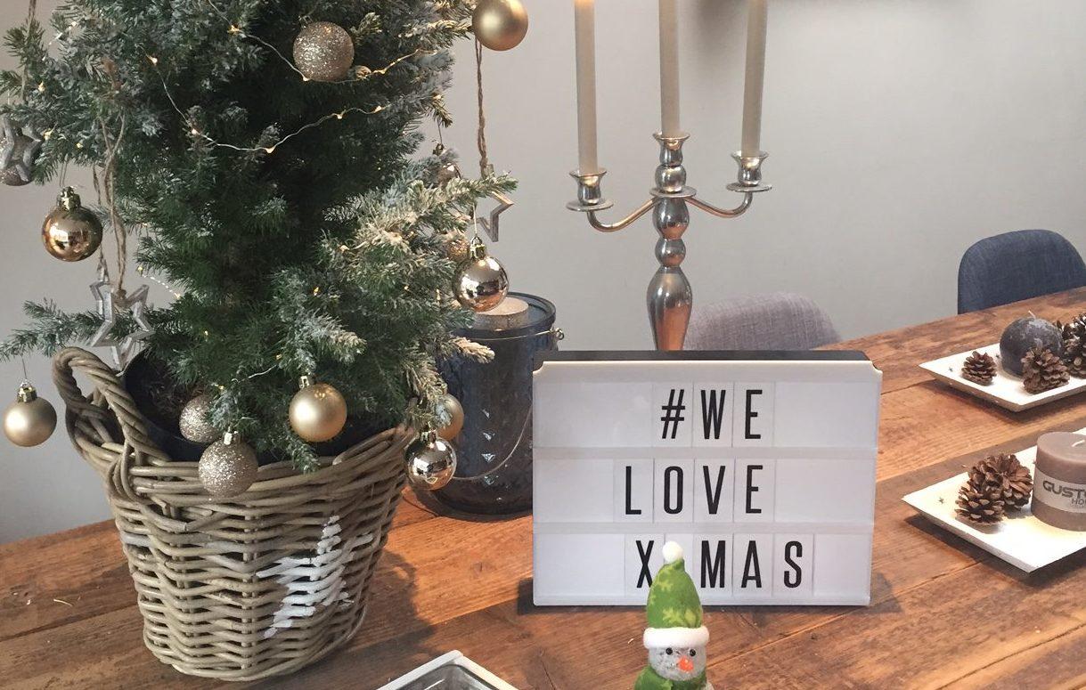 Kersttafel kerstdagen in een nieuw huis foodblog Foodinista