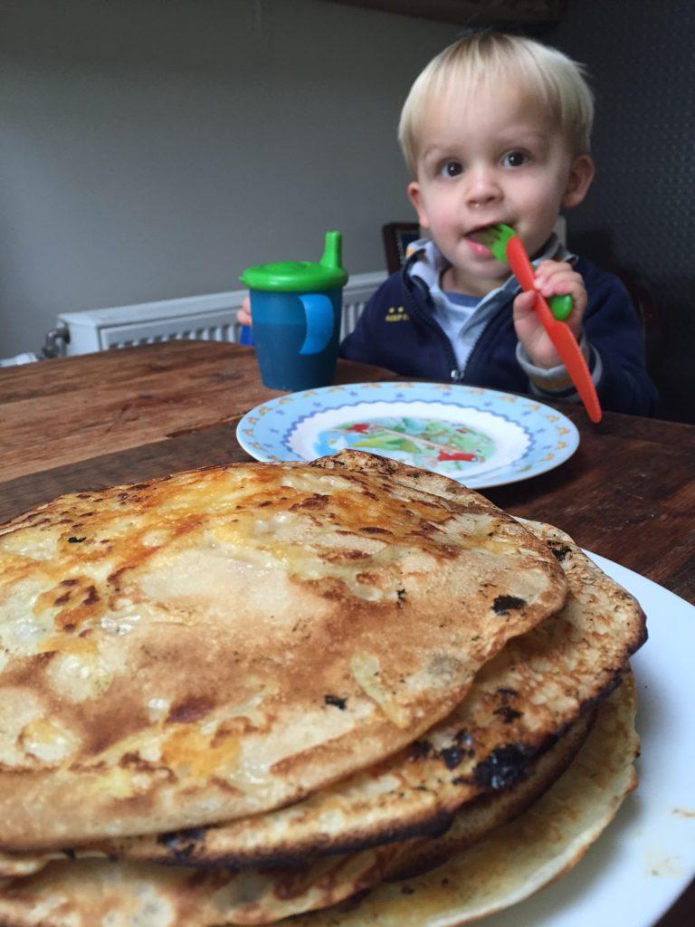 November dagboek foodblog Foodinista pannenkoeken bakken zondagmiddag