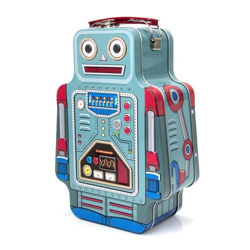 Praktische Sinterklaas cadeautjes voor kids robot lunchbox tips van foodblog Foodinista