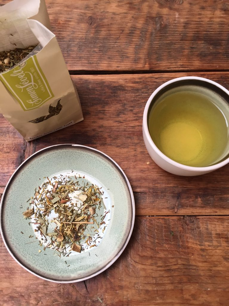 Rooibos green lemon pineapple thee getest door foodblog Foodinista