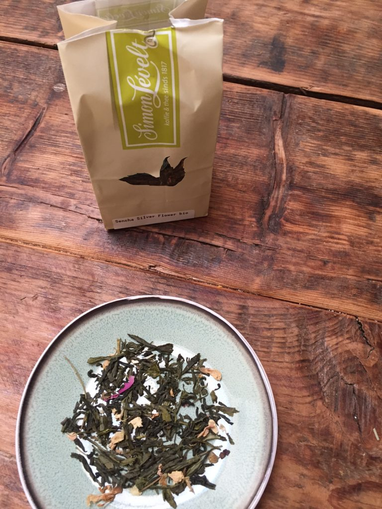 Groene rozen thee van Simon Levelt getest