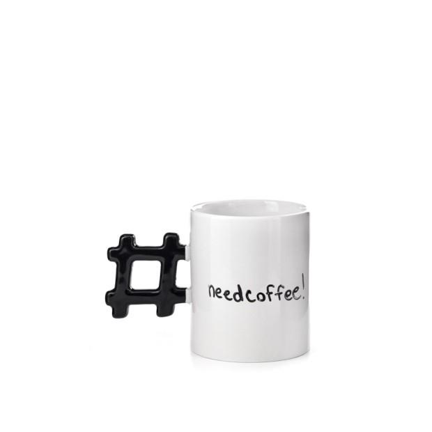 Sinterklaas cadeau tips onder 15 Euro hashtag need coffee beker foodblog Foodinista