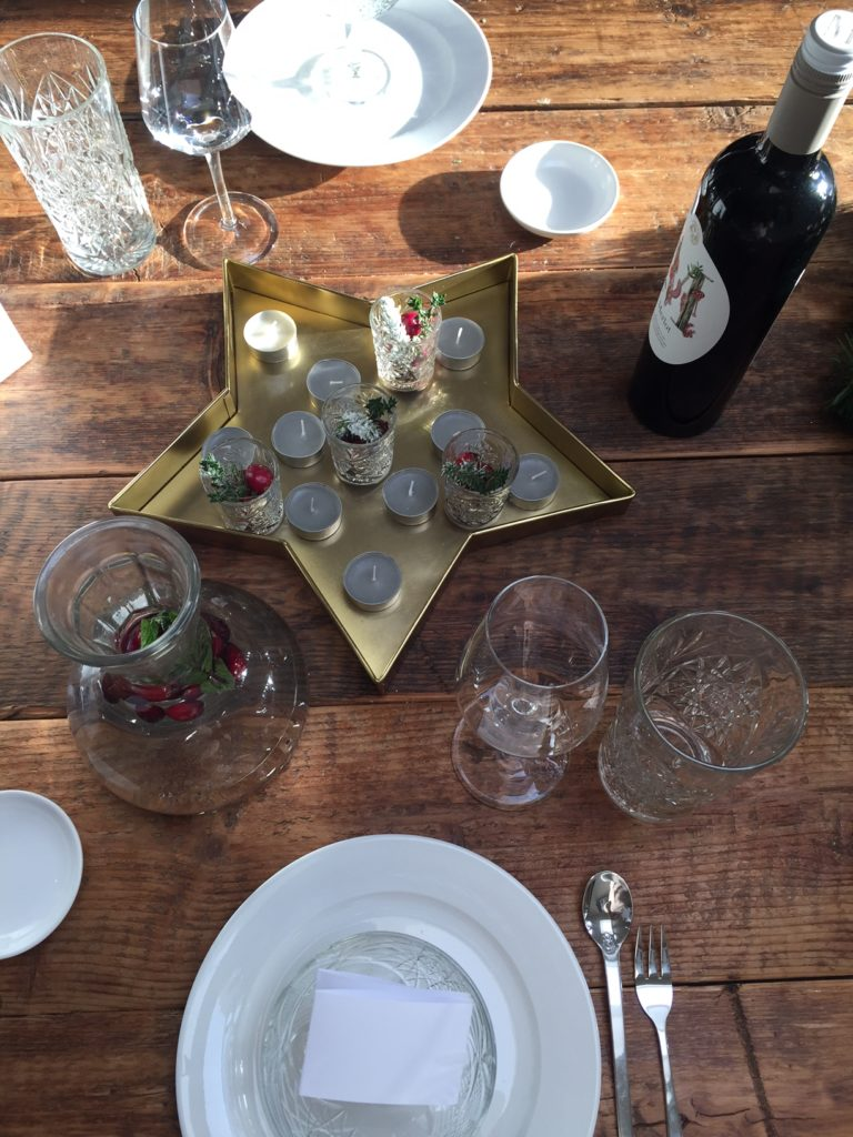 Kersttafel dekken tips van foodblog Foodinista