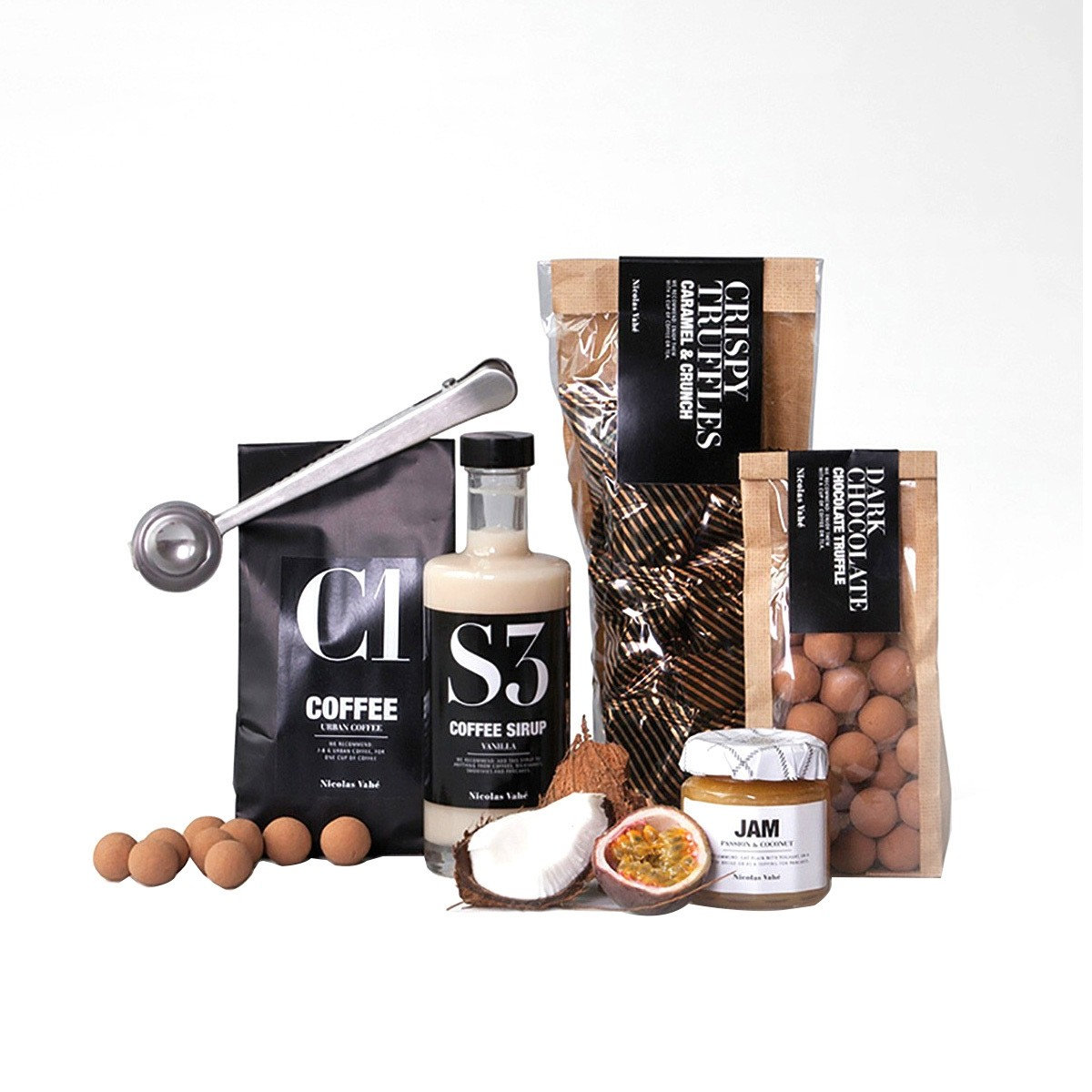 Heerlijke kerstcadeautjes tips van foodblog Foodinista Luxe chocolade pakket